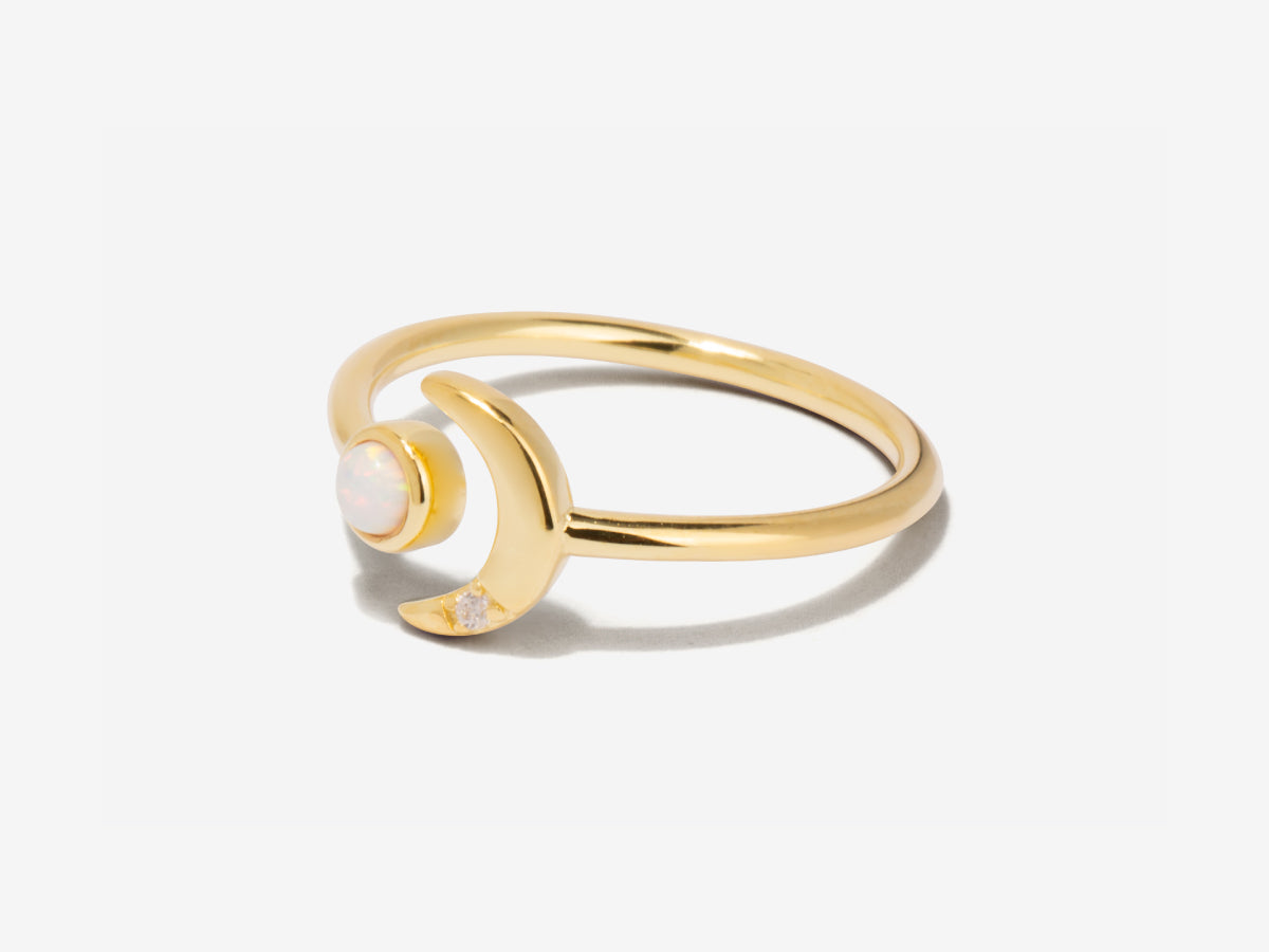 Ming Opal 14K Gold Ring