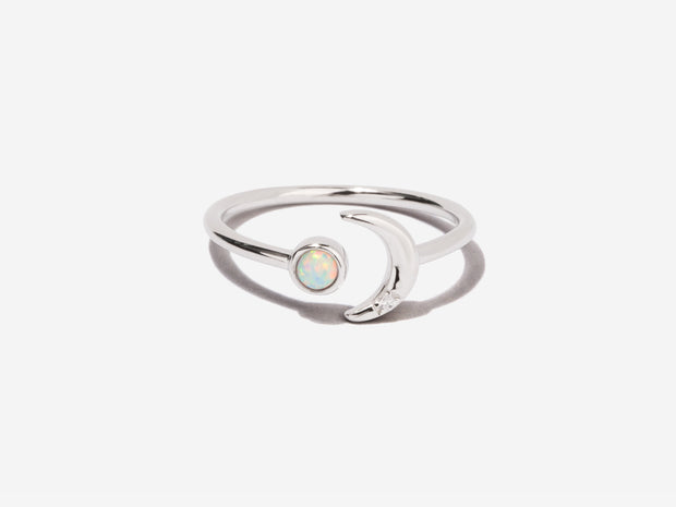 Ming Opal Sterling Silver Ring 1