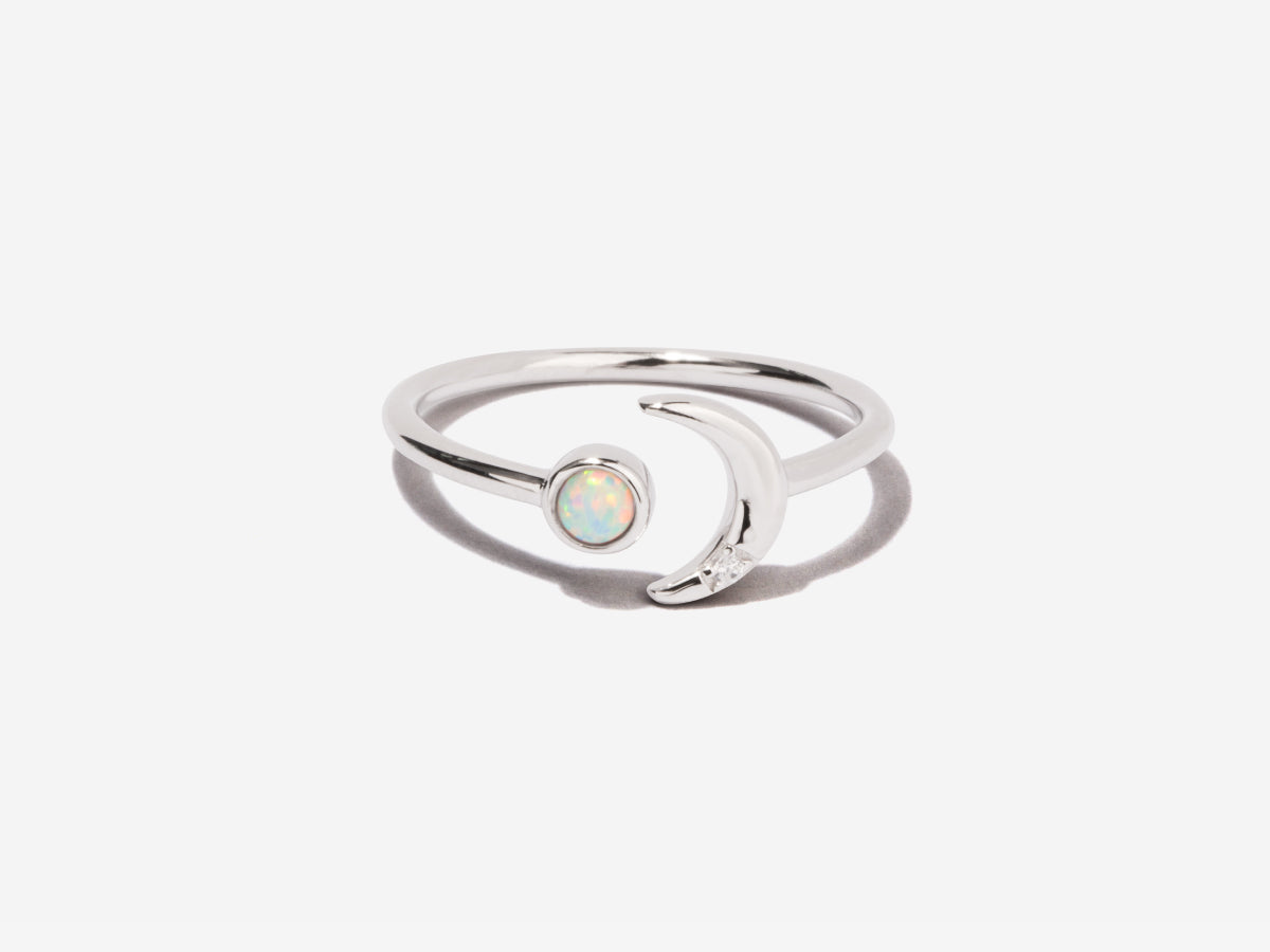 Ming Opal Sterling Silver Ring
