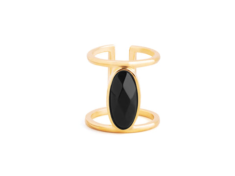 Orbit Turquoise 14k Gold Ring