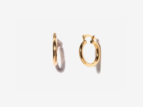 Tiny 14K Gold Filled Hoop Earrings