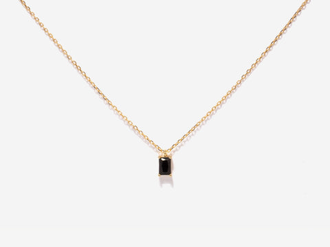 February Birthstone Amethyst 14k Gold Necklace