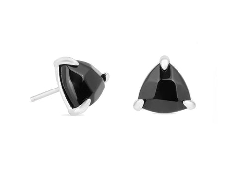 Diamond Black Lip Shell Threader Earrings