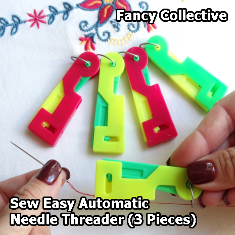 Sew Easy Automatic Needle Threader (3 Pieces)