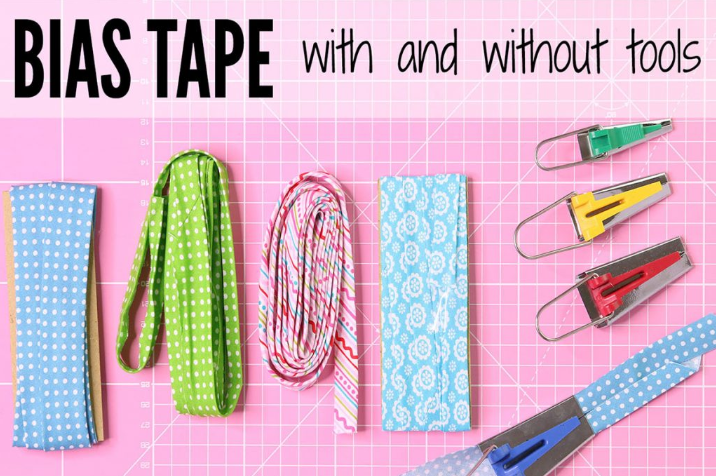 How to Make BIAS TAPE | Bias Binding With & Without a Bias Maker