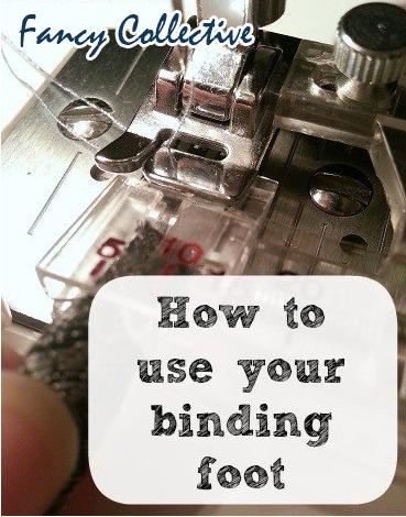 How to Sew Binding with a Binding Foot