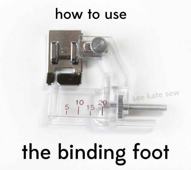 Sewing 101: How To Use The Binding Foot?