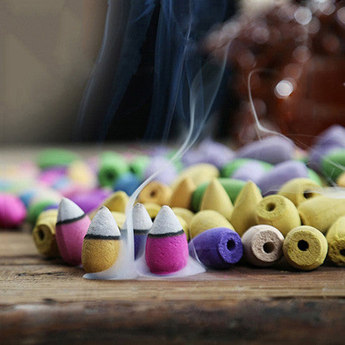 Backflow Incense Cones (50 Pieces)