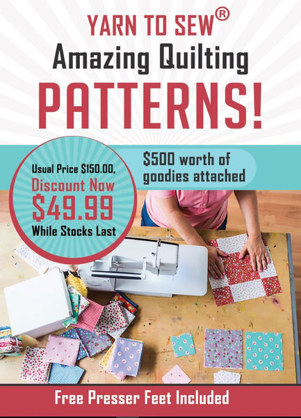Amazing Quilting Patterns (By Yarn To Sew®)