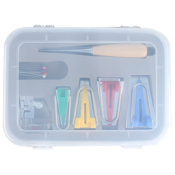 [HOT BUY!] Bias Tape Makers Kit (with Case)