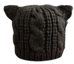 Cat Ears Knitted Beanie