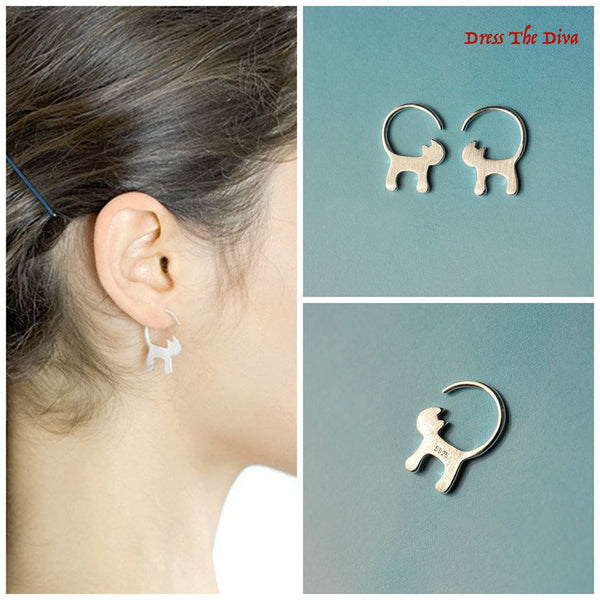 Cat Purr-fect Earrings