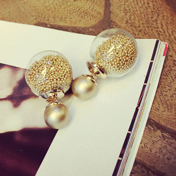 Diva Candy Joy Globe Earrings