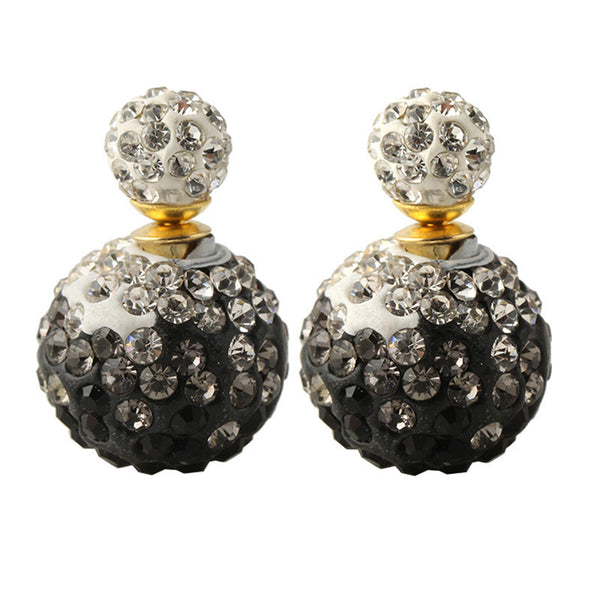 Diva Glitz Globe Earrings