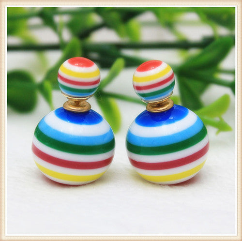 Diva Chic Candy Globe Earrings