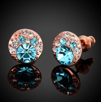 Diva Topaz Crystal Earrings