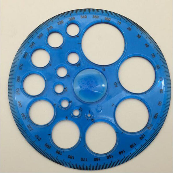 Circular Patchwork Template Ruler