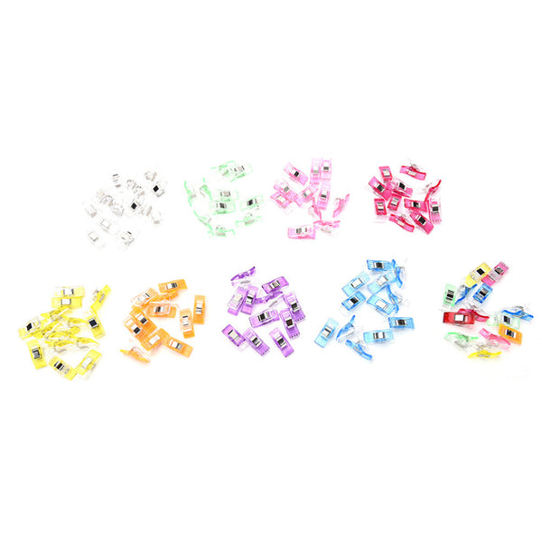 50-Piece Wonder Clips (Sewing, Quilting, Crocheting, Beading, Knitting)