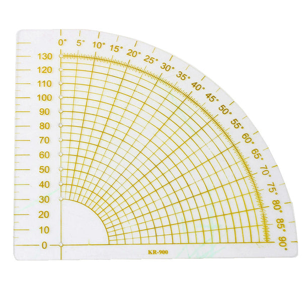 Fan Angle Fabric Ruler