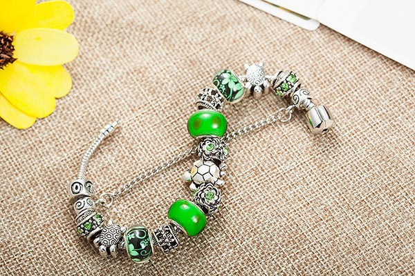Diva Sea Turtles Charm Bracelet (Conservation Special)