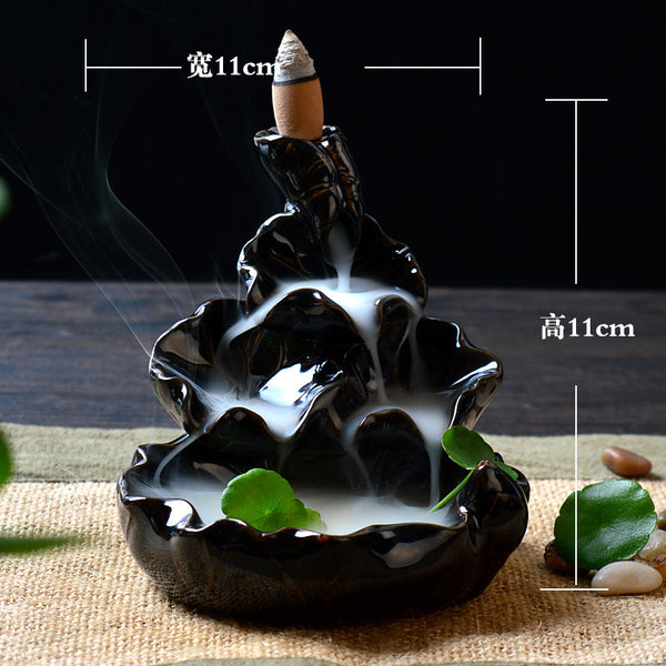 Handmade Backflow Incense Burner