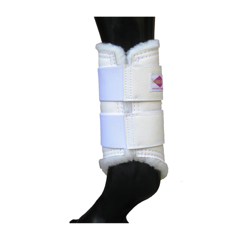 Dressage Sport Horse Boots - Leather Protection - Horseboots.com