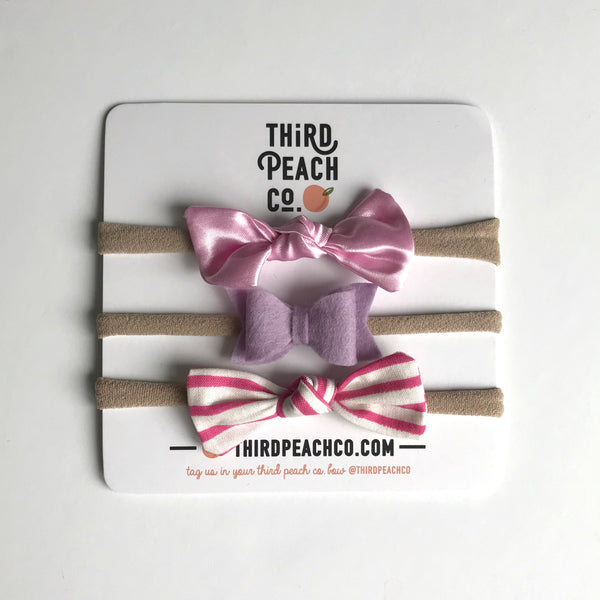 Mini Bow Set 2