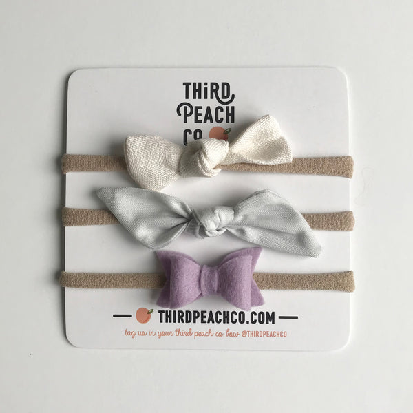 Mini Bow Set 7