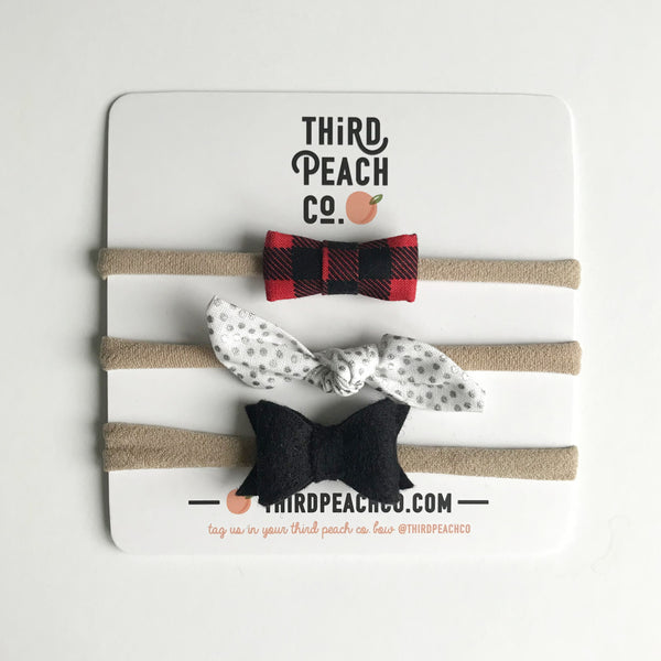Mini Bow Set 15
