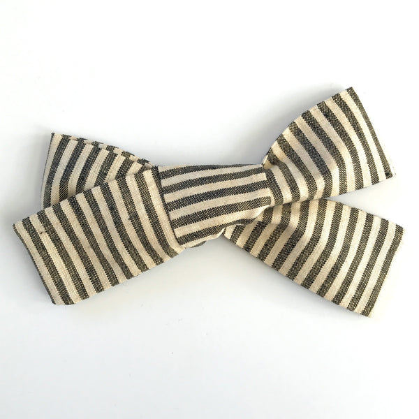Little Miss Bow - Vintage Stripe