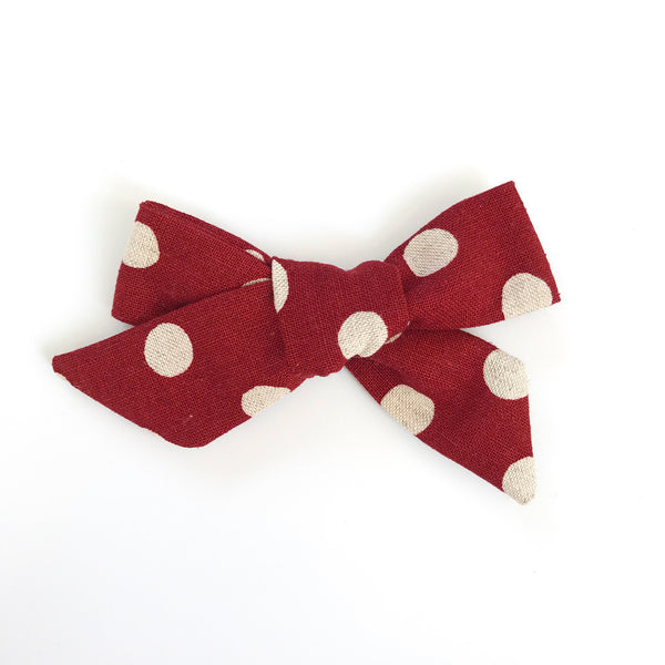 Classic Tie - Red Dot