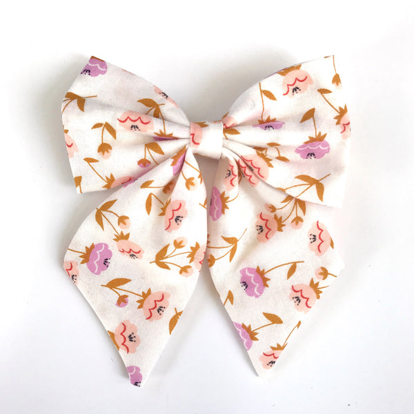 Little Miss Sailor Bow - Buttercups