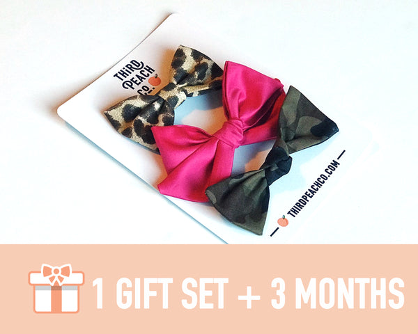 Gift Set + 3 Month Subscription