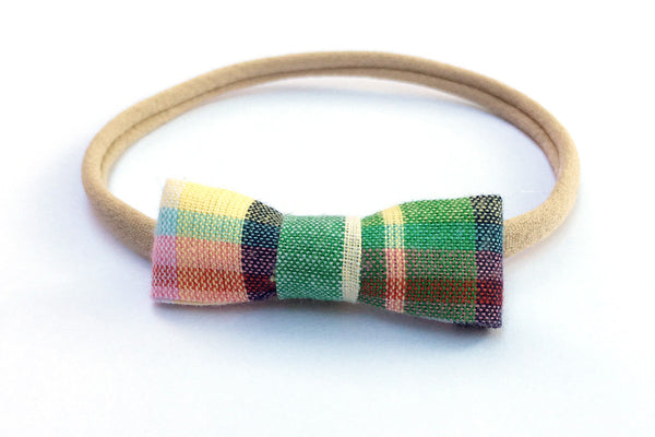 Peewee Bow - Plaid