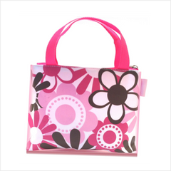 Signature Floral Cosmetics Bag™