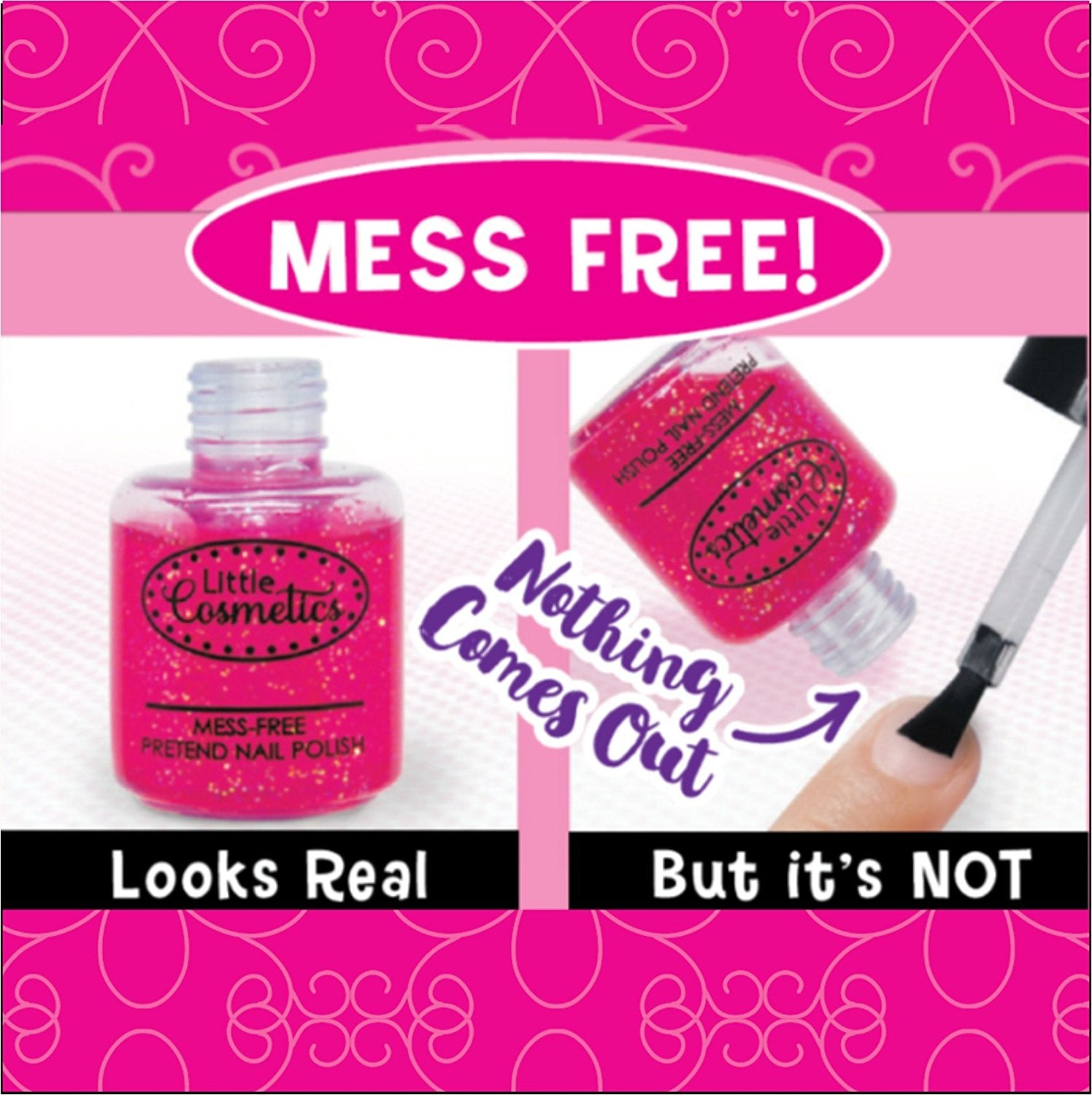 Pretend Makeup Fuchsia Mini Set