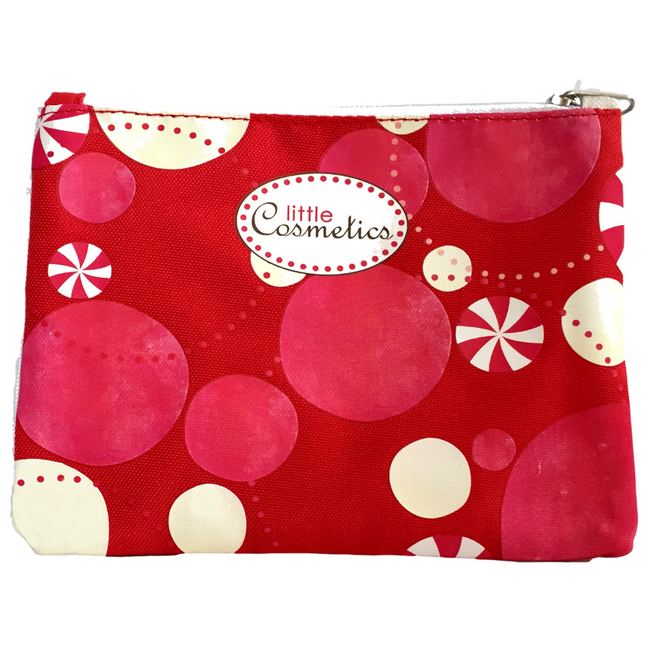 Red & White Cosmetic Bag ™