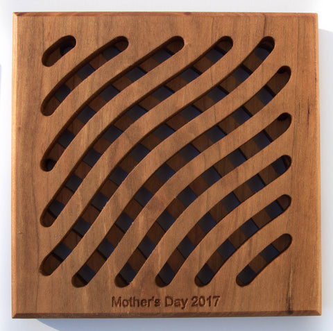 Mother's Day Cherry Trivet