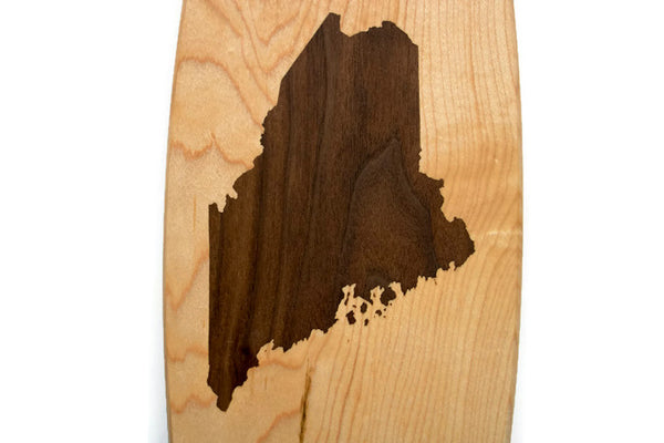 Maine Cheese Board - ME Cutting Board