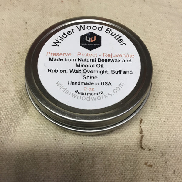 Wilder Wood Butter - 2 oz.