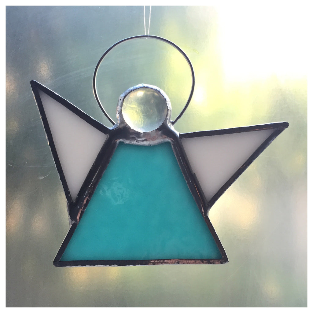 "Glass Angel ""Turquoise"""