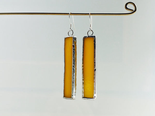 Glas øreringe // Glass earrings #4