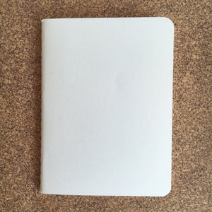 Notebook, A6 White