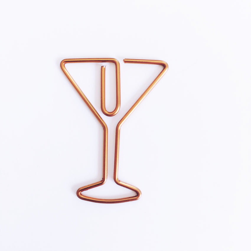Paper clip, cocktail - Wang's Wonderful World