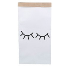 Kraft paper storage bag, eyelashes