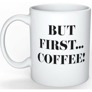 Mug - But first, coffee - Wang's Wonderful World