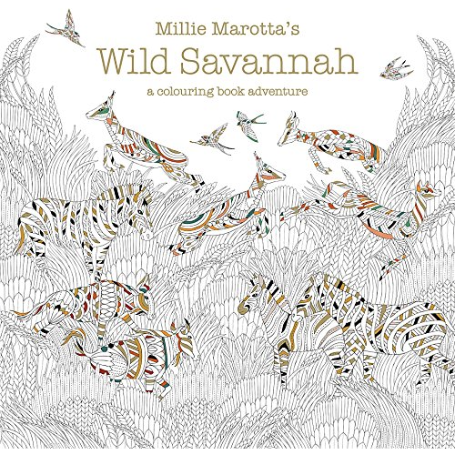 Millie Marotta Colouring Book - Wild Savannah