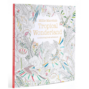 Millie Marotta Colouring Book - Tropical Wonderland