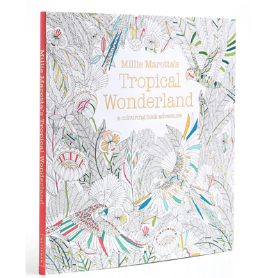 Millie Marotta Colouring Book - Tropical Wonderland - Wang's Wonderful World
