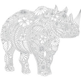 Millie Marotta Colouring Book - Animal Kingdom